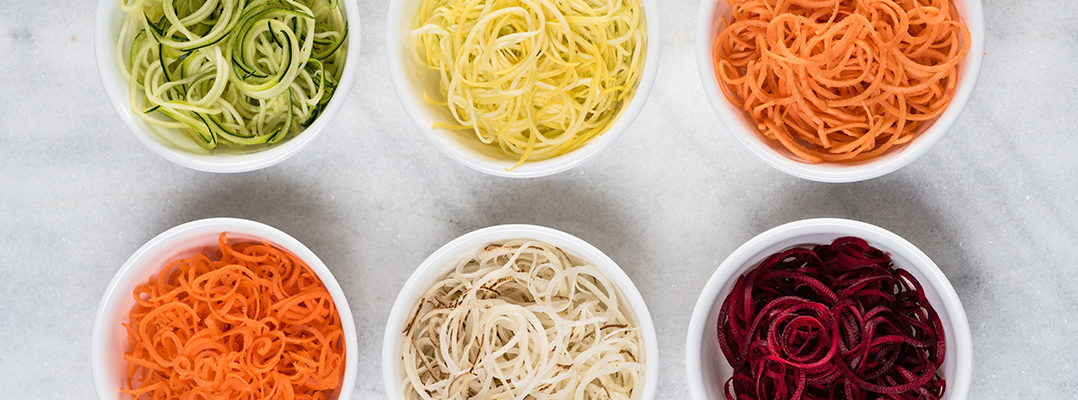 Why Vegans Should Experiment With Spiralized Vegetables