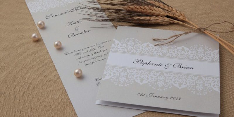 Top Tips for Creating Your Own Wedding Stationery